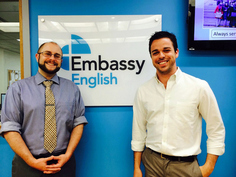 【閉校】Embassy English New York